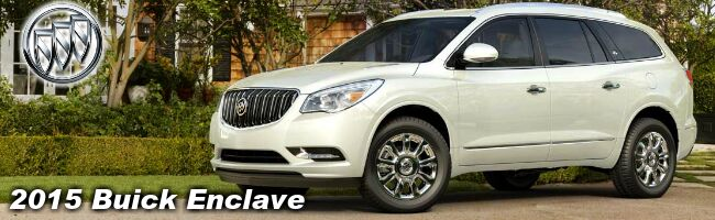2015 Buick Enclave exterior Southern Wisconsin Fillback