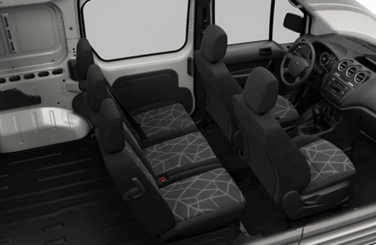 The 2015 Ford Transit Tampa FL can haul up to 15 people.