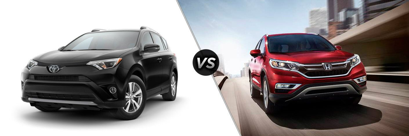 2016 toyota rav4 vs 2016 honda cr-v exterior cargo space hybrid max towing airbags
