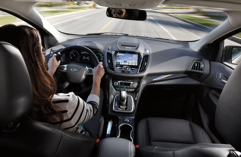 2016 ford escape interior touchscreen technology