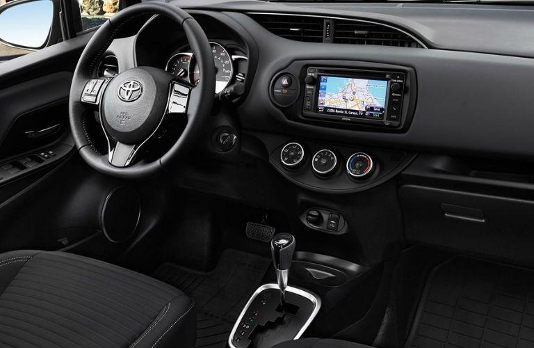 2016 Toyota Yaris Interior Infotainment System
