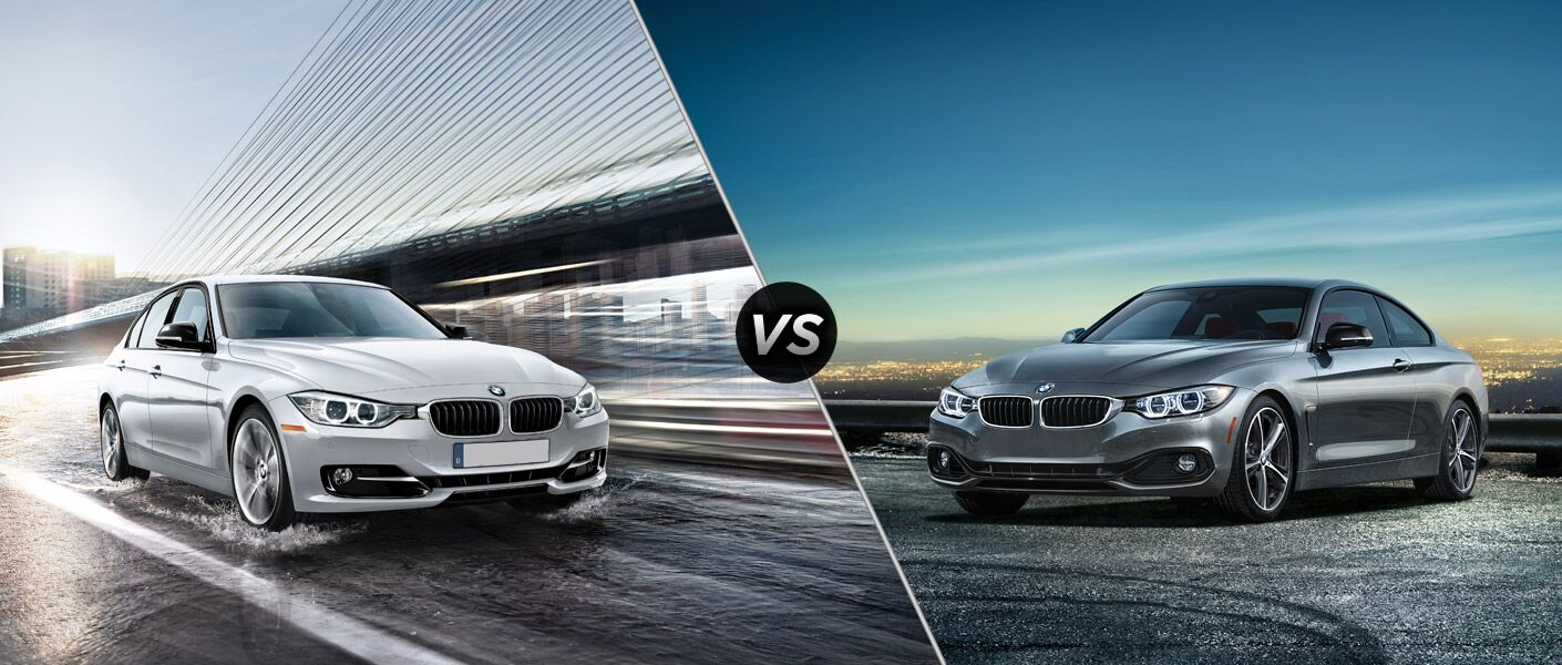 2015 Bmw 3 Series Vs Bmw 4 Series