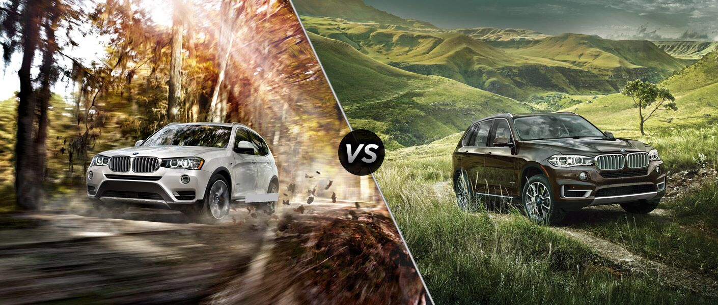 2015 BMW X3 vs BMW X5 BMW Topeka