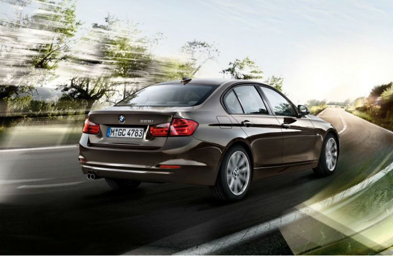 BMW 3-Series Rear