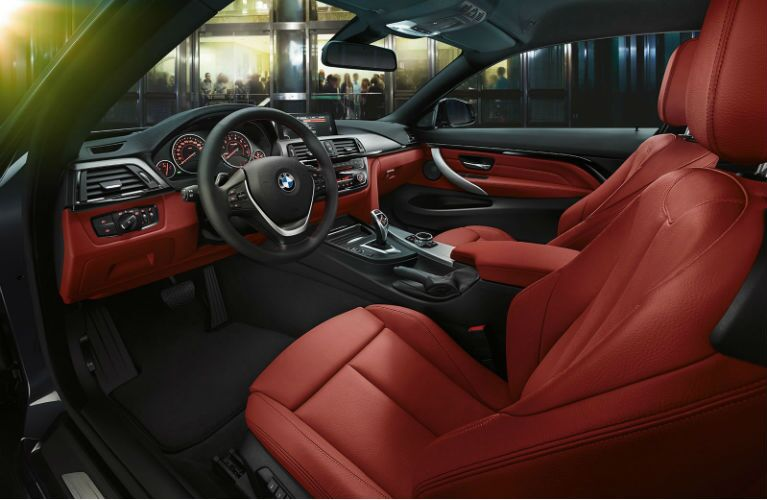 2015 BMW 4-Series Coupe Seats
