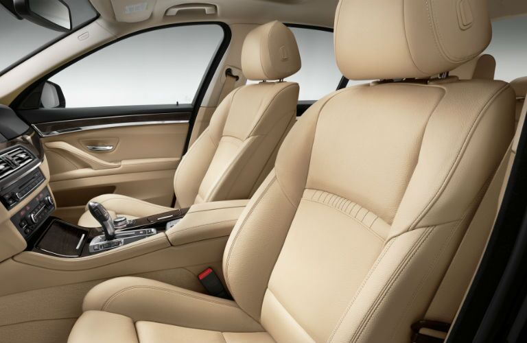 2015 BMW 5-Series Tan Interior Leather Seats Topeka KS