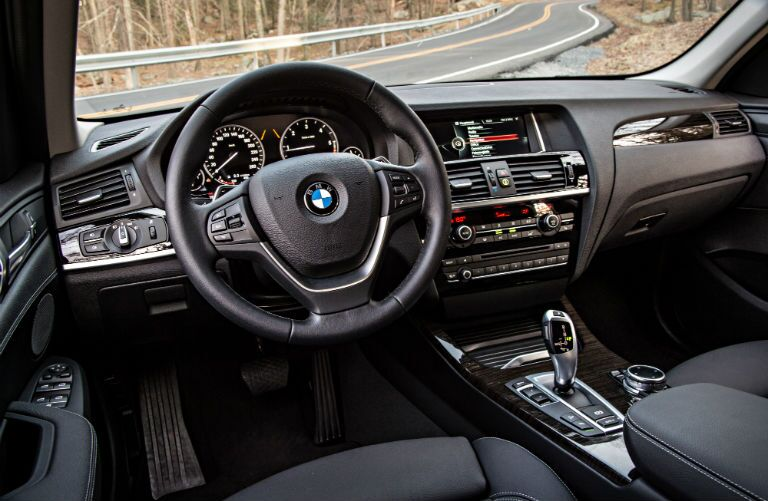 2016 BMW X3 Interior Technology
