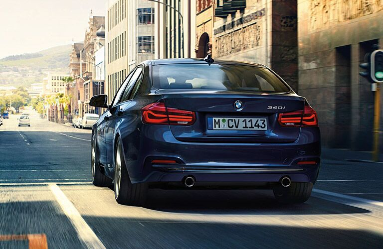 2016 BMW 3 Series Topeka KS rear view