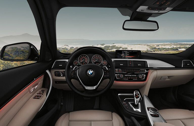 2016 BMW 3 Series Topeka KS interior
