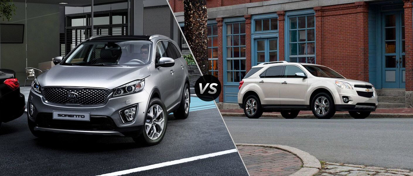 2016 kia sorento vs 2015 chevy equinox. Black Bedroom Furniture Sets. Home Design Ideas