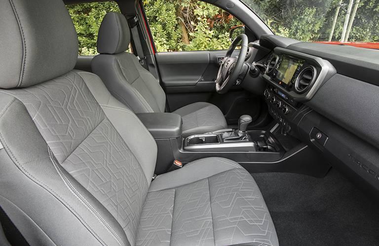 2016 Toyota Tacoma seat material
