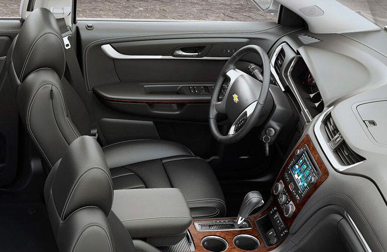 2015 Chevy Traverse Alexandria MN interior