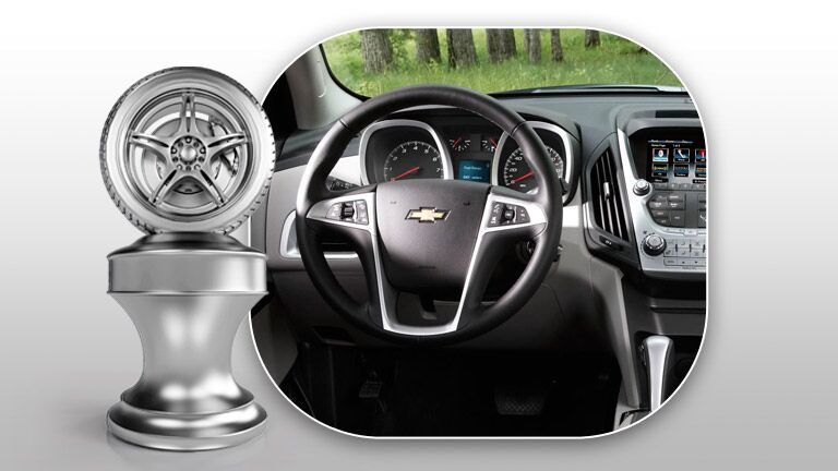 First-rate dashboard of the 2015 Chevy Equinox