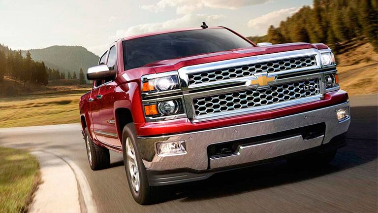 Hauling on the 2015 Chevy Silverado 1500