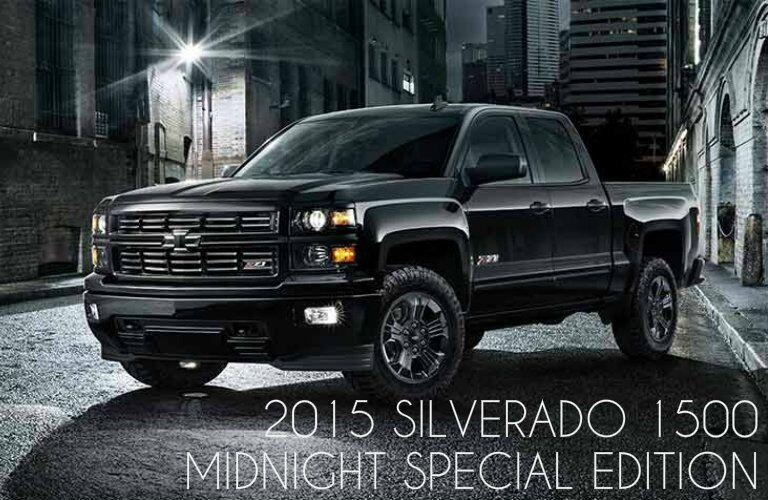 2015 Chevy Silverado Alexandria MN Midnight Special Edition