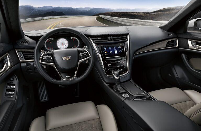 2016 Cadillac CTS comfortable interior
