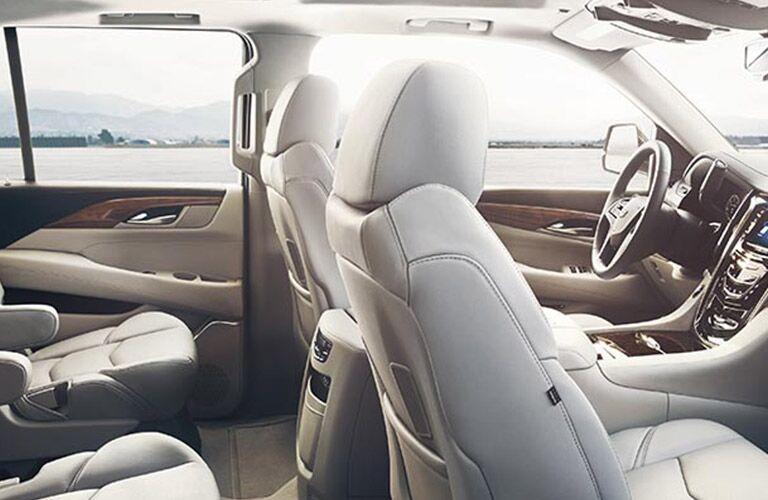 luxurious interior of the 2016 Cadillac Escalade