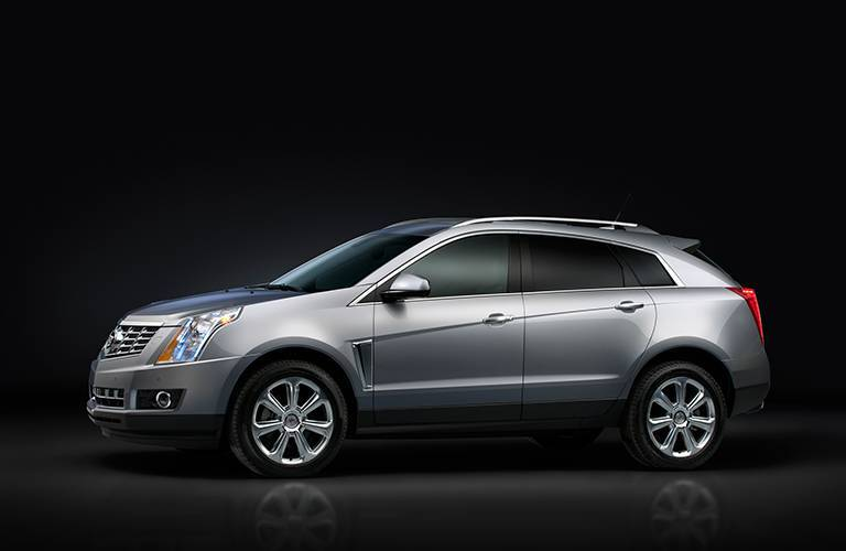 Side view 2016 Cadillac SRX