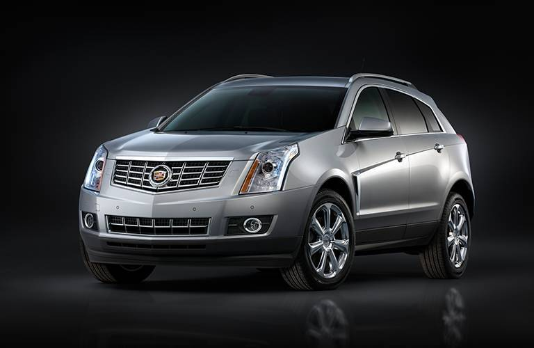 2016 Cadillac SRX grille and front