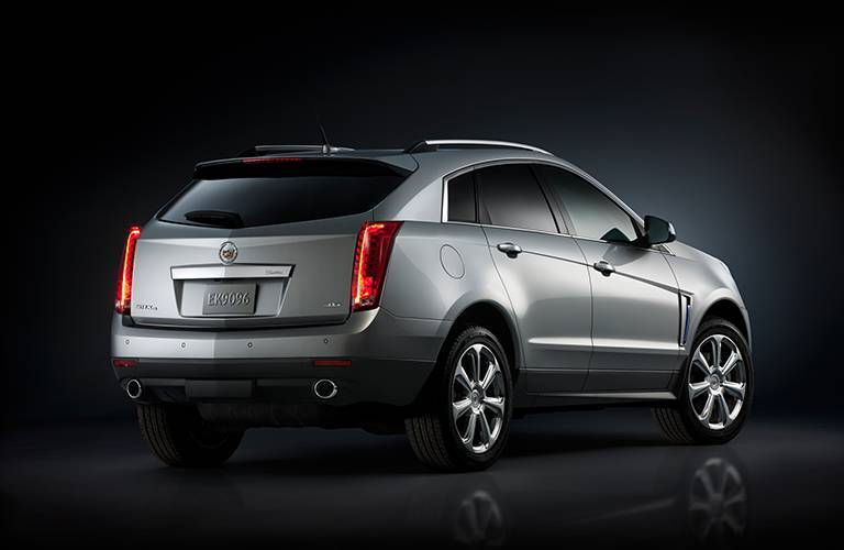 2016 Cadillac SRX stylish rear area