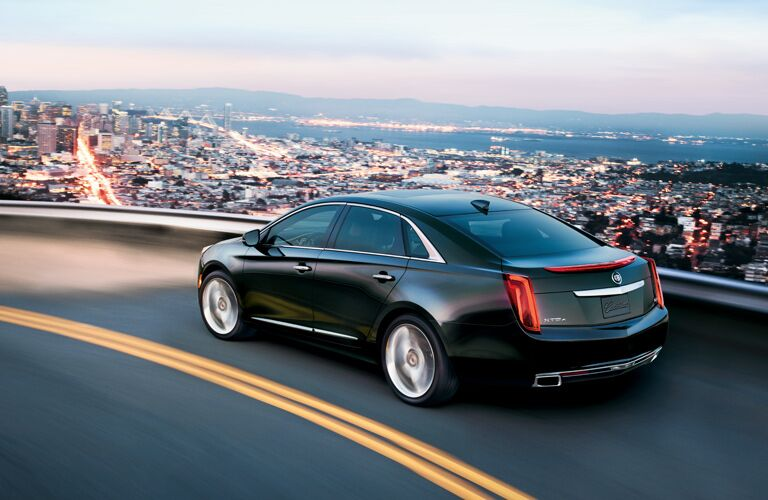 Stylish city driving with the 2016 Cadillac XTS