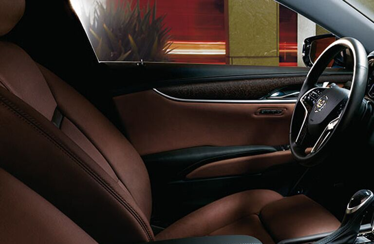 2016 Cadillac XTS leather interior