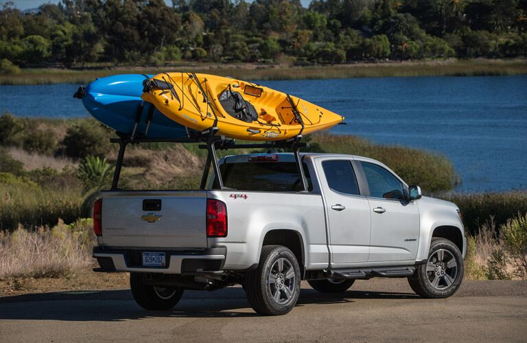 2016 Chevy Colorado ready for an adventure with boats