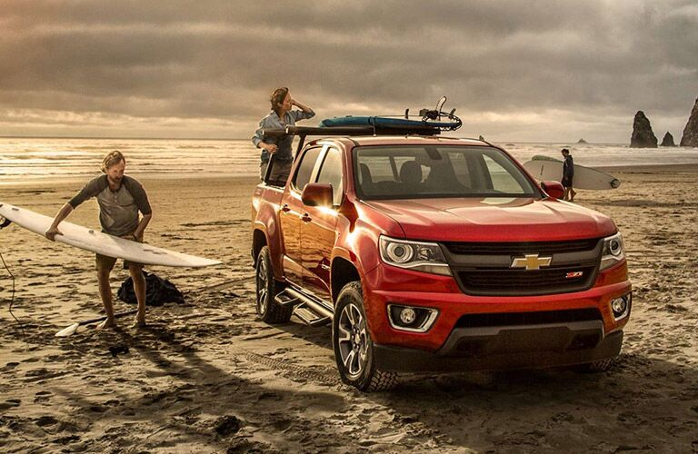 2016 Chevy Colorado ready for any terrain