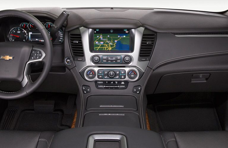 2016 Chevy Tahoe infotainment features