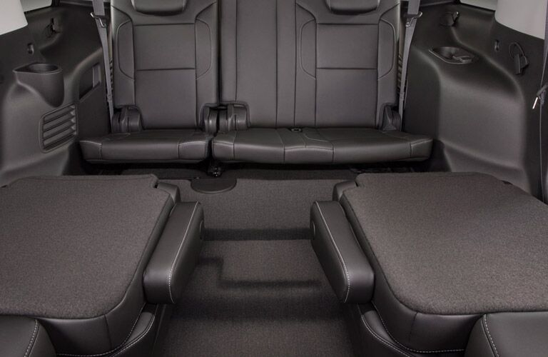 flat-folding seats 2016 Chevy Tahoe