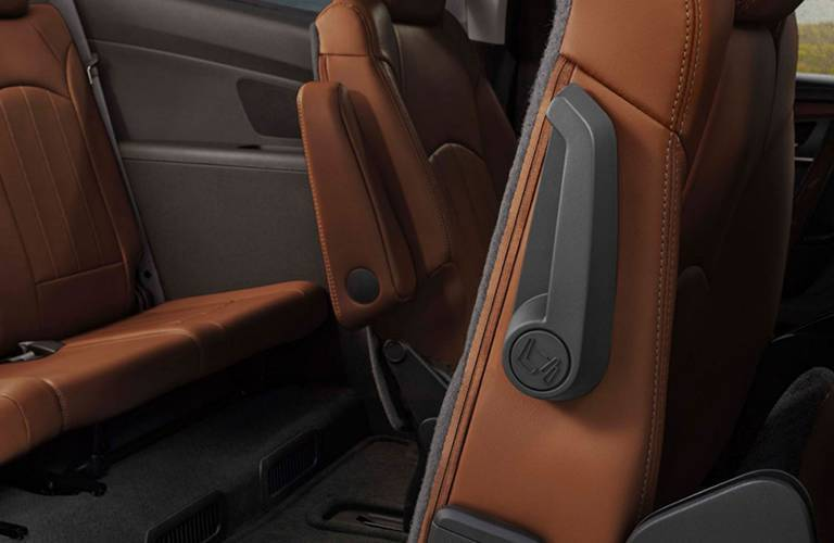 2016 Chevy Traverse easy to fold seating