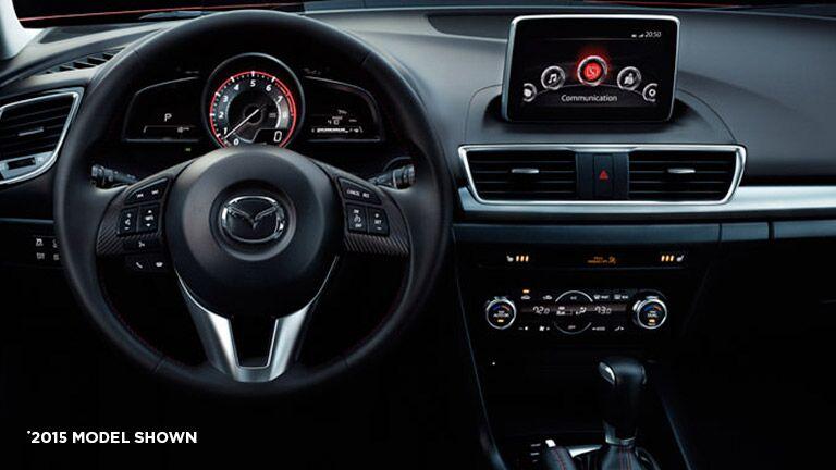 Driver Friendly Dashboard Of The 2016 Mazda 3