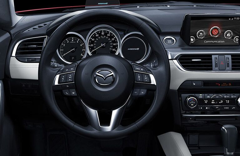 2016 Mazda6 user-friendly controls