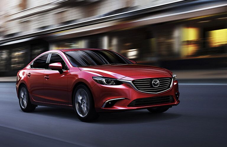 Swift acceleration 2016 Mazda6