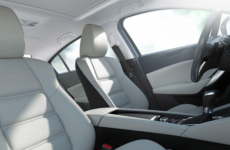 Comfortable interior 2016 Mazda6