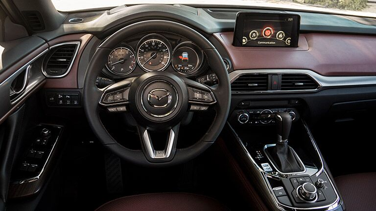 2016 Mazda CX-9 dashboard view