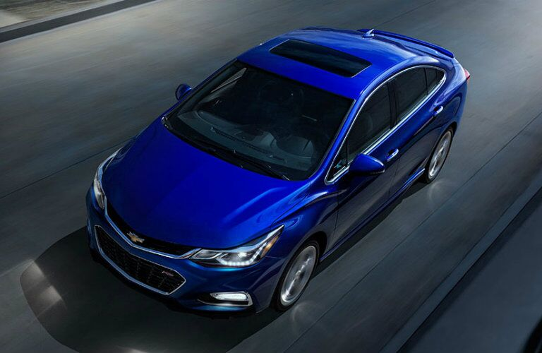 2016 Chevy Cruze Alexandria MN driving