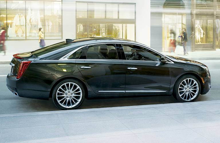 Full-size Cadillac XTS sedan with premium features