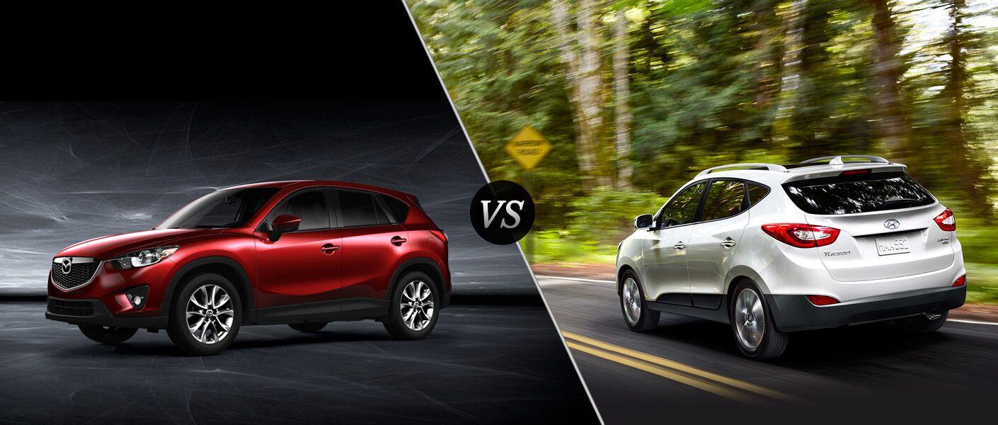 2015 Mazda CX-5 vs 2015 Hyundai Tucson