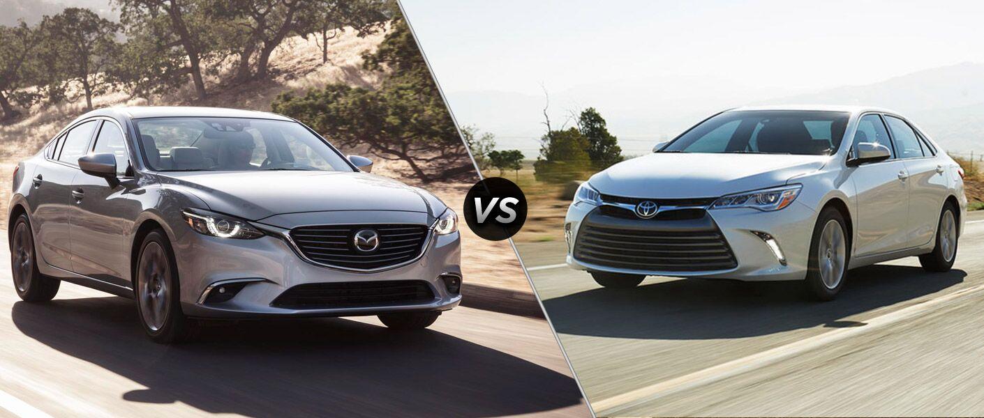 2016 Mazda6 vs 2016 Toyota Camry