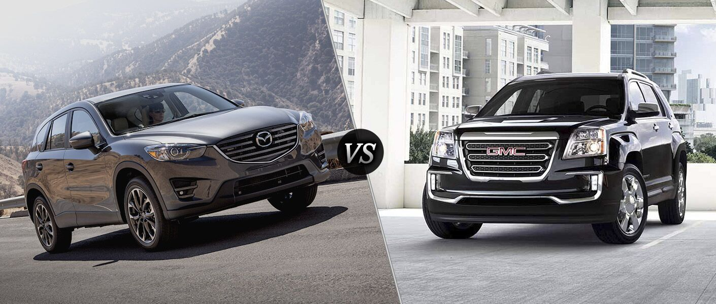 2016 Mazda CX-5 vs 2016 GMC Terrain