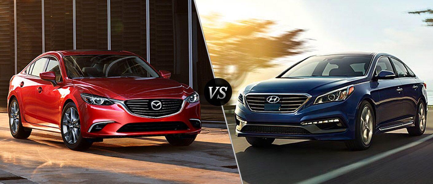 2016 Mazda6 vs 2016 Hyundai Sonata
