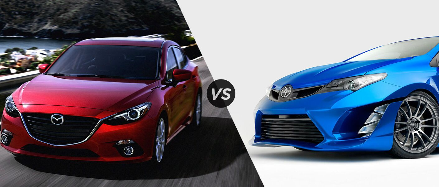 2015 Mazda 3 vs 2016 Scion iM
