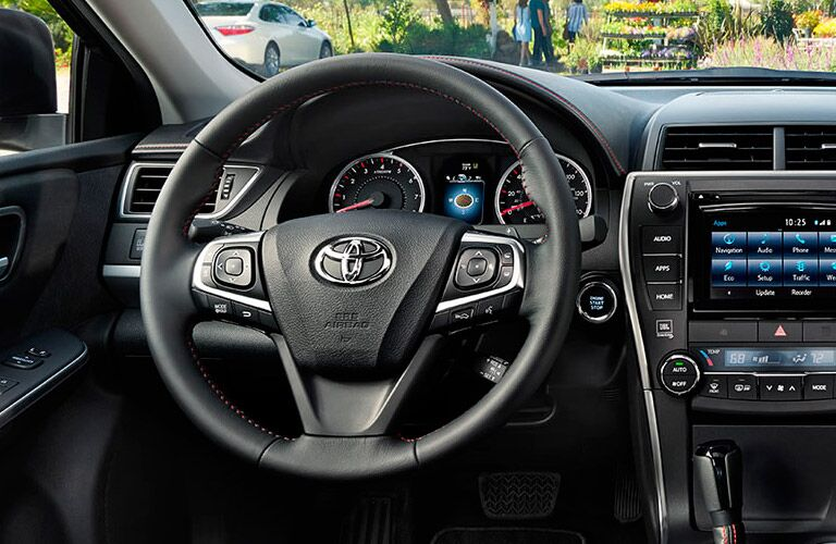 2015 Toyota Camry Interior vs. Ford Fusion Interior Kokomo Auto World