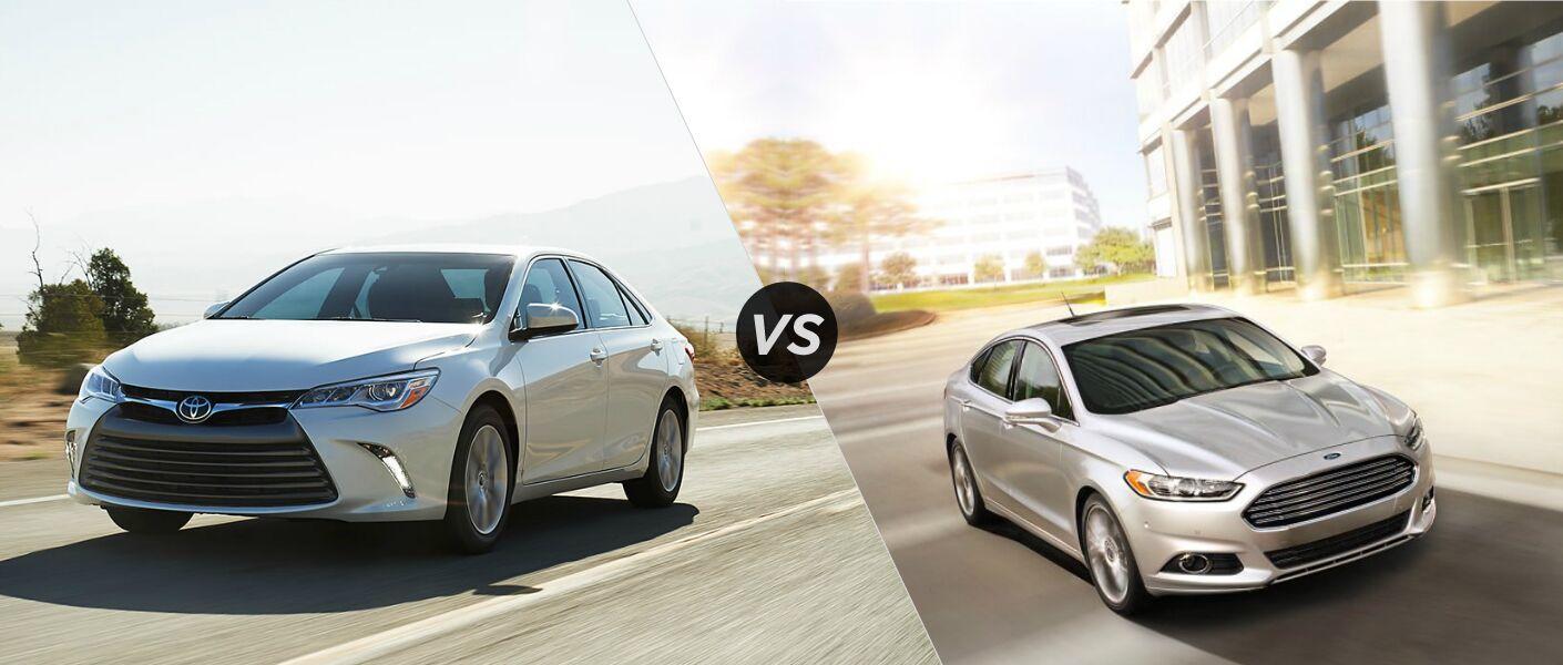 2015 Toyota Camry vs 2015 Ford Fusion Kokomo IN