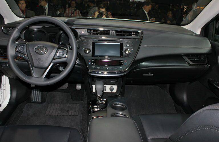 2016 Toyota Avalon Interior Auto Show Steering Wheel Entune