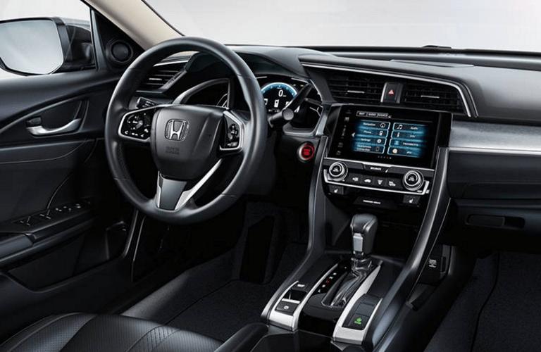2016 Honda Civic vs 2016 Ford Focus features