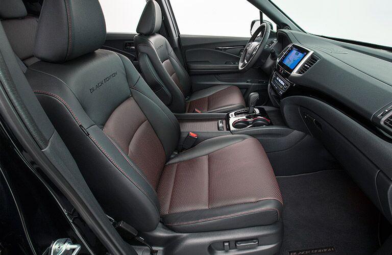 2017 Honda Ridgeline Black Edition interior leather seats Dayton, Ohio