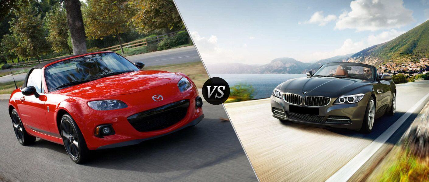 2014 Mazda MX-5 Miata vs 2014 BMW Z4