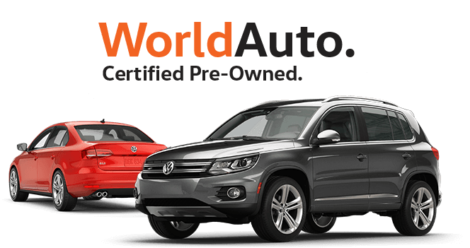 Certified Pre-Owned Volkswagen near Longview
